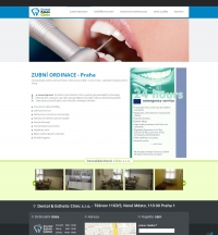 Сайт визитка - Dental&Esthetic Clinic s.r.o.